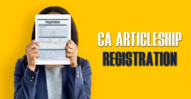 CA-Articleship-Registration