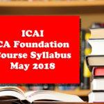 ICAI-CA-Foundation-Course-Syllabus-May-2018