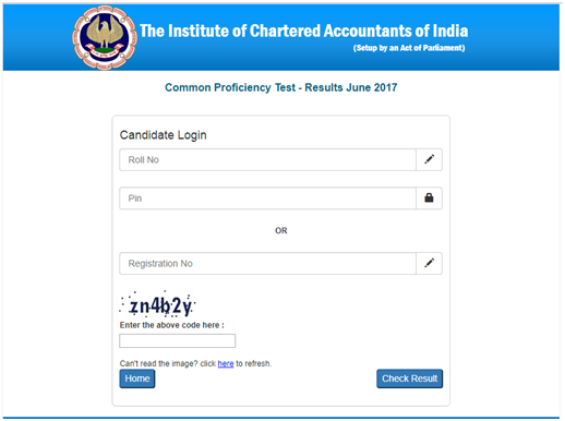 check ca foundation result May 2019