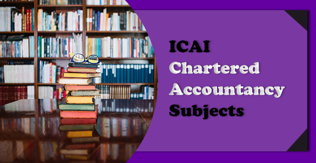 ICAI-Chartered-Accountancy-Subjects
