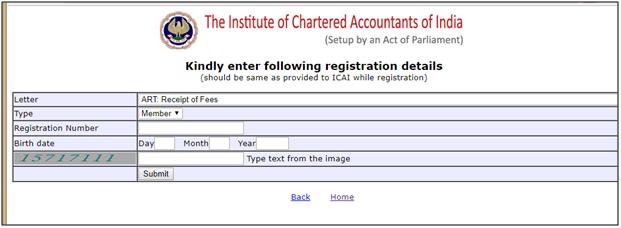 ca intermediate registration status window