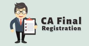 CA Final Registration
