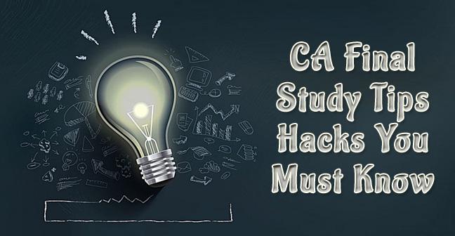 ca final study tips