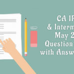 ca ipcc intermediate question papers with answers