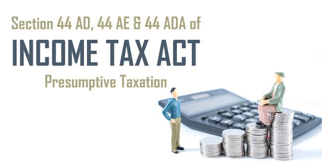 presumption taxation
