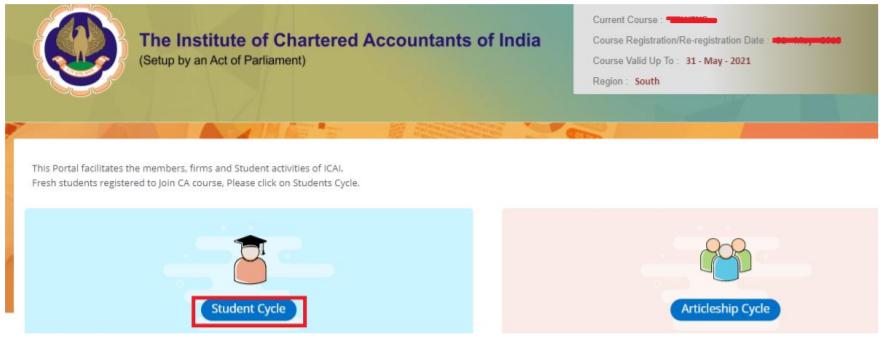 CA Intermediate Registration Form- Step 3