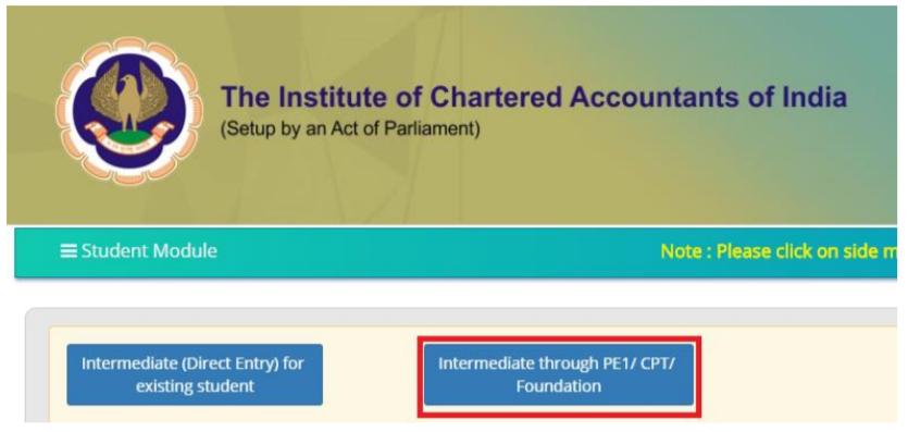 CA Intermediate Registration Form- Step 4