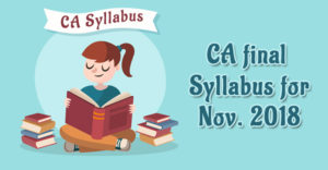 CA-Final-Syllabus-for-Nov.-2018