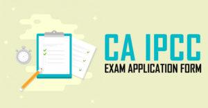 CA IPCC Application Form