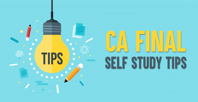 CA-Final-Self-Study-Tips