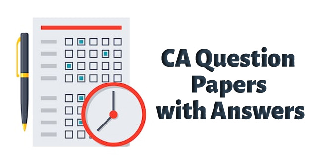 CA-Question-Papers-with-Answers