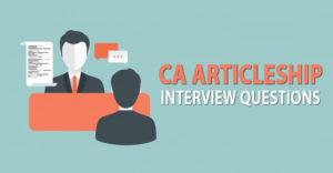 CA-Articleship-Interview-Questions