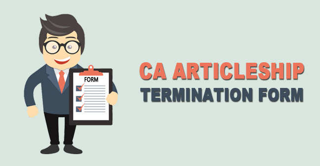 CA-Articleship-Termination-Form