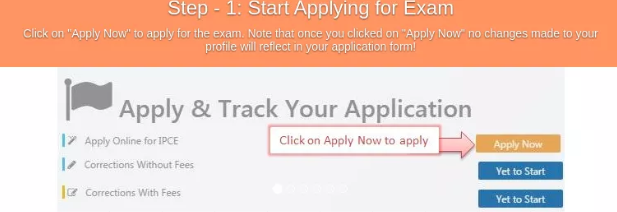 CA Final Examination form