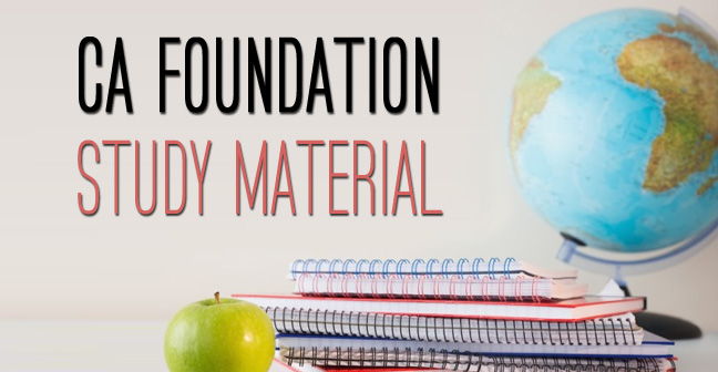 CA-Foundation-Study-Material