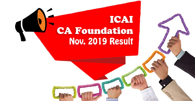 ICAI-CA-Foundation-nov 2019-Result
