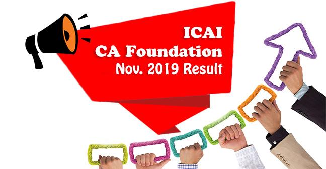 ICAI-CA-Foundation-nov 2019-Result