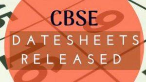 cbse class 12 datesheet