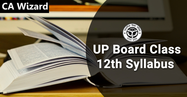 up board 12th class syllabus
