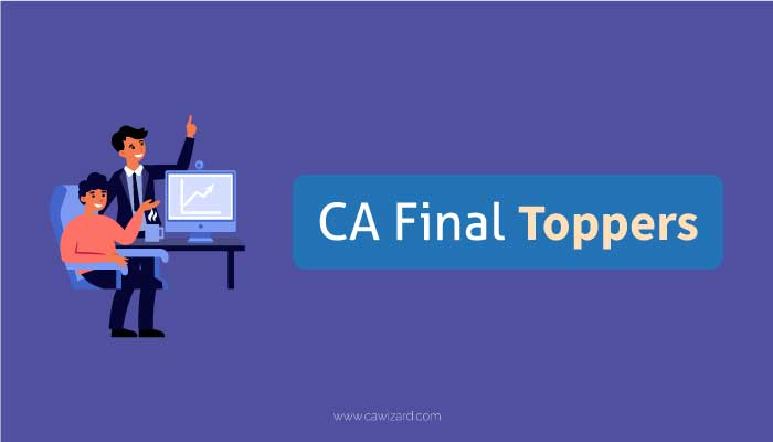 CA Final Toppers