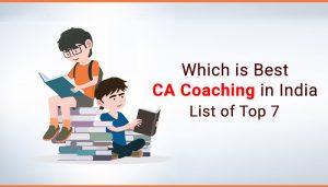 top 10 CA Coaching institutes in india