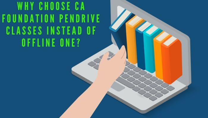CA Foundation Pendrive classes