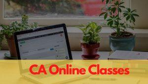 CA Online Classes