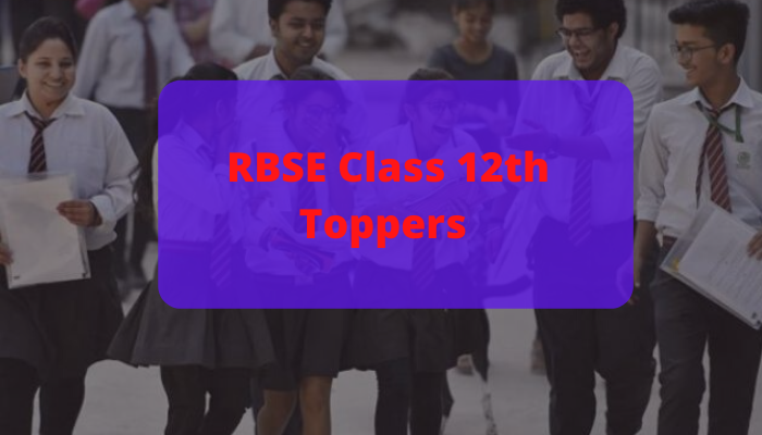 RBSE Class 12th Toppers 2020