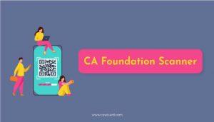 CA Foundation Scanner