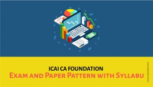 CA Foundation Exam Pattern