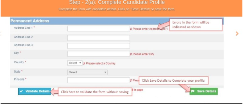 CA foundation application form 2020