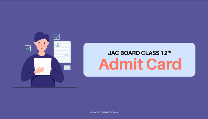 JAC Board Class 12th Admit Card