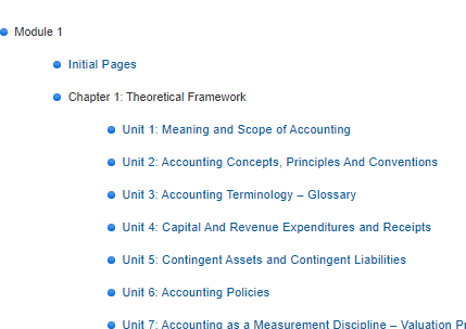 CA Foundation Study Material all subjects