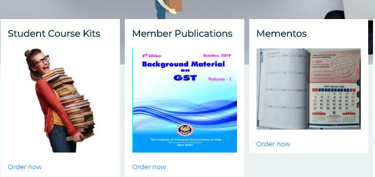 Order CA Foundation Books