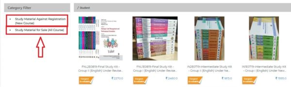 order CA Foundation Study Material
