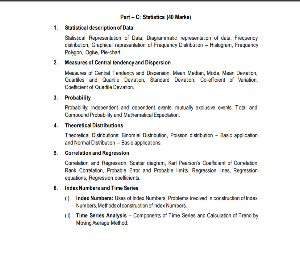 syllabus of CA Foundation Logical reasoning