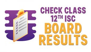 isc board result