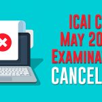 CA may 2020 examination cancelled