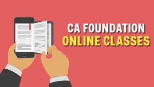 CA Foundation Online Classes
