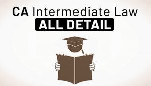 CA Intermediate law