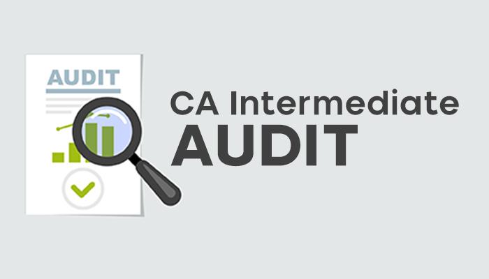 CA Intermediate Audit