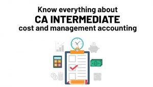CA Intermediate costing