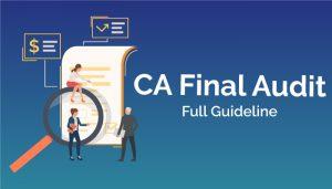 CA Final Auditing