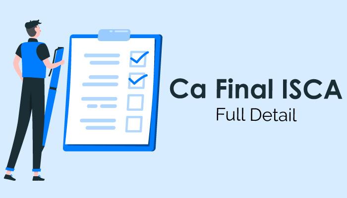 CA Final ISCA