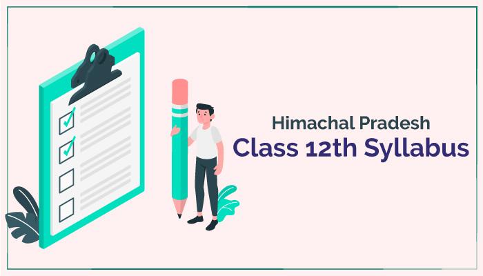 HPBOSE Class 12th syllabus