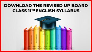 UP Board Class 11 English Syllabus