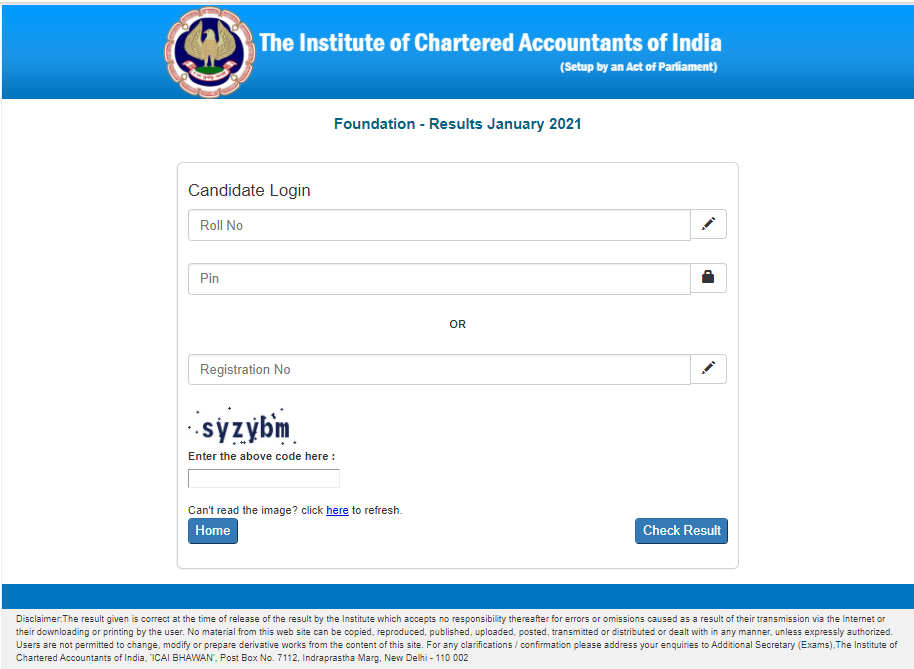 ICAI-foundation-result